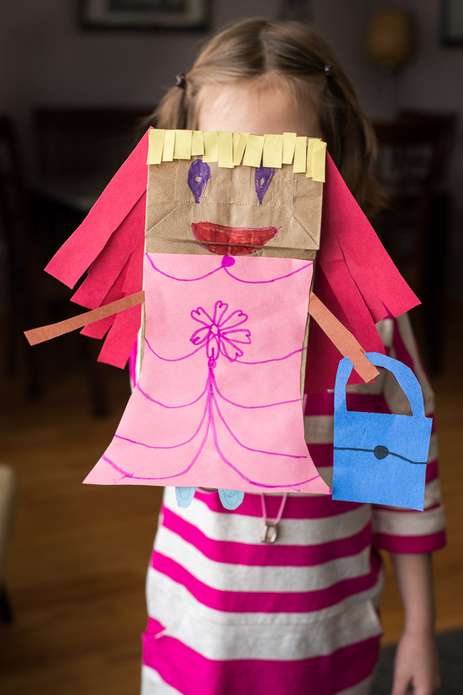 Untitled (paper bag princess)